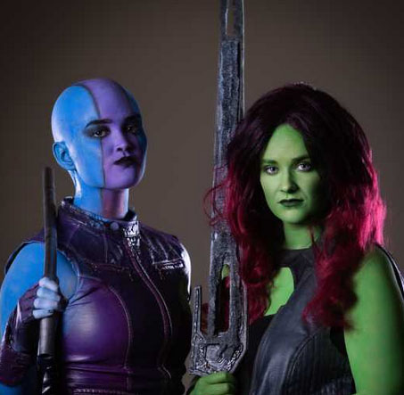 gamora cosplay costumes 2