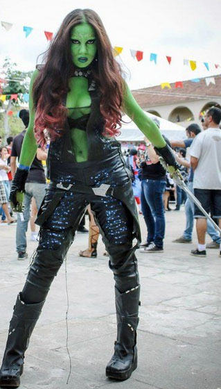 gamora cosplay costumes