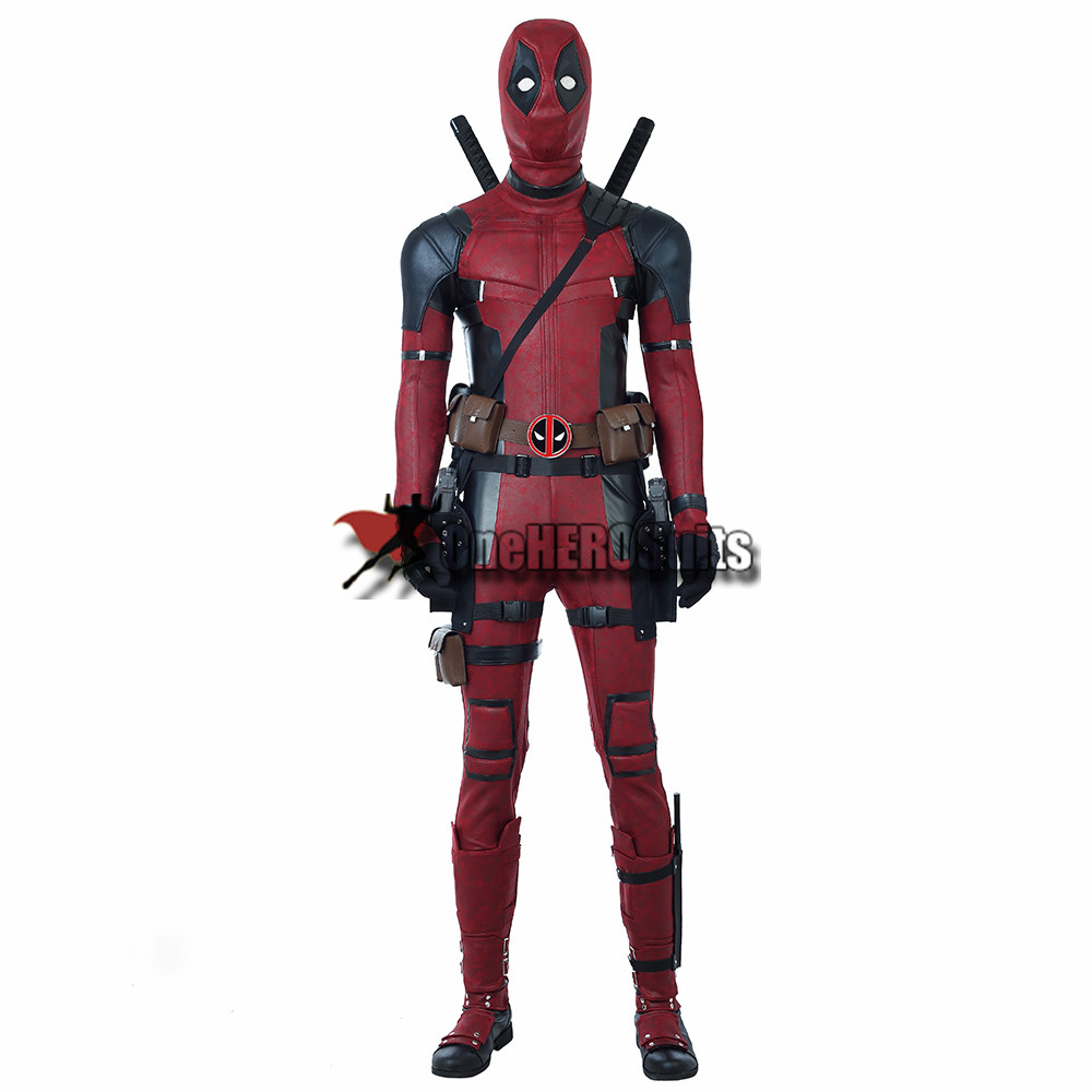 deadpool leather cosplay costumes by oneherosuits