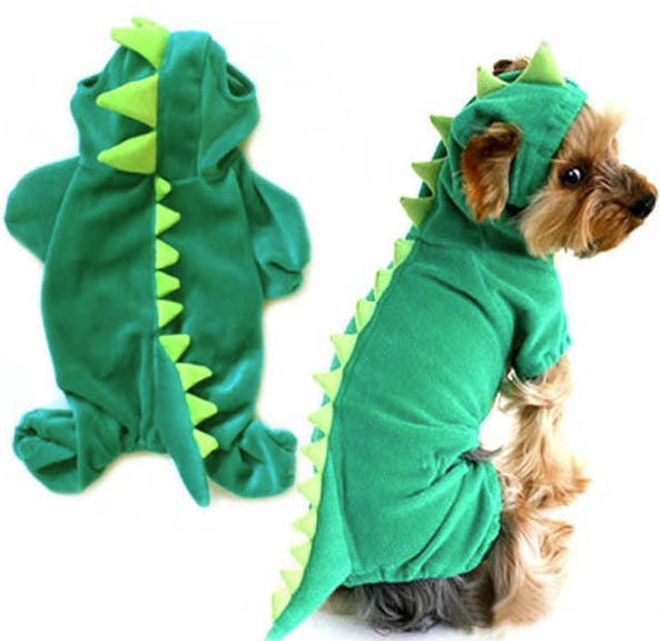 dinosaur onesie for pets