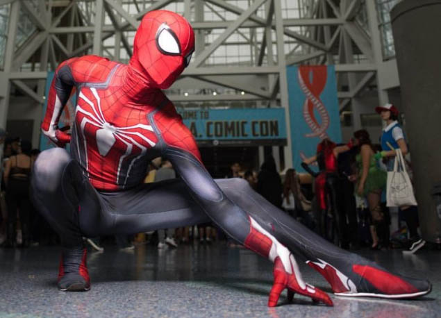 spider-man cosplay costume